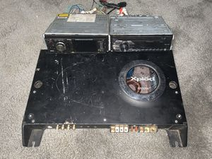 Sony amp and radio for Sale in Central Falls, RI