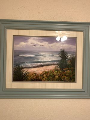 Beach picture and frame for Sale in Altamonte Springs, FL
