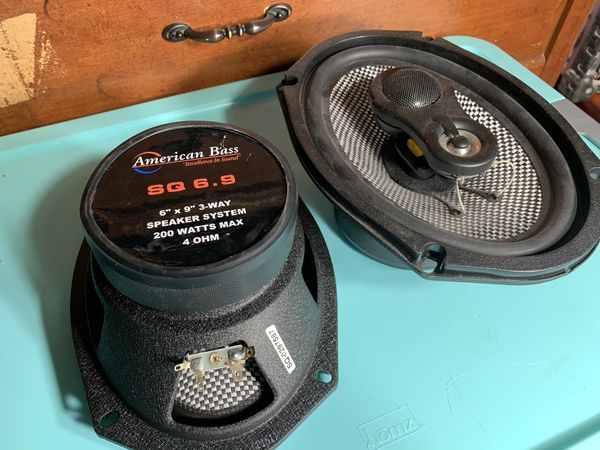 American Bass 6x9 Speakers - Car Audio