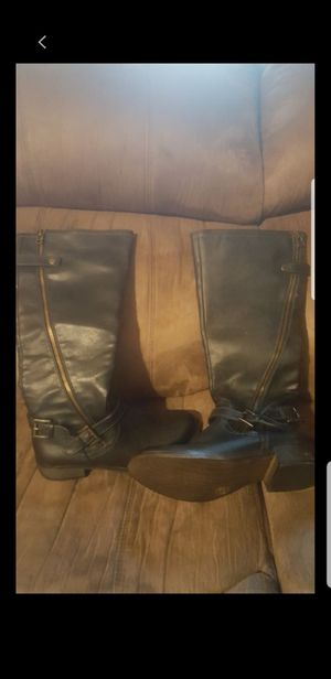 Women's size 8 black riding boots for Sale in Austin, TX