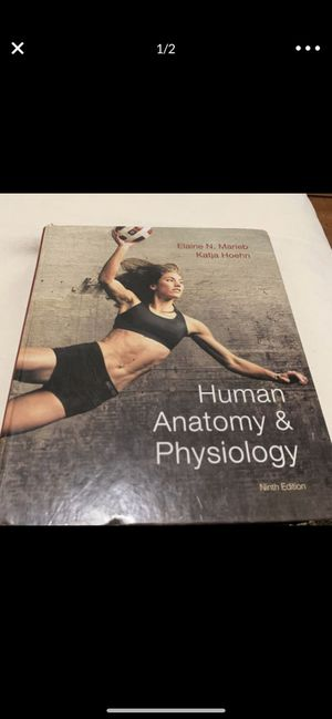 HUMAN ANATOMY AND PHYSIOLOGY NINTH EDITION MARIEB for Sale in Miami, FL