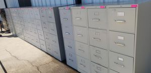 4DRAWERS VERTICAL FILE CABINETS FOR SALE!!!!....EACH for Sale in Houston, TX