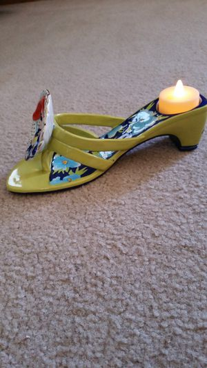 Diane's Happy Toes Sandal Candle Holder for Sale in Chesapeake, VA