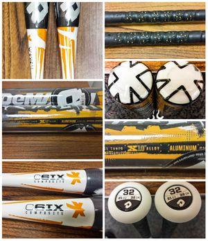 (2) DeMarini Vexxum Baseball Bats 32/21oz -11 NIW! for Sale in Anaheim, CA