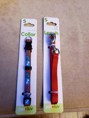 Dog Collar and Leash for Sale in Jackson Township, NJ
