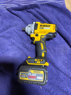 Dewalt Brushless Impact Dcf894 New includes 6.0 Battery for Sale in Cypress, CA