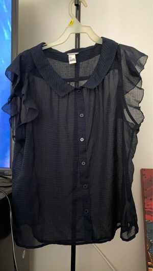 Sheer collared shirt for Sale in Orlando, FL