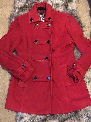 Woman Red Coat / Brand Bebe Coat / Saco Marca Bebe for Sale in Los Angeles, CA