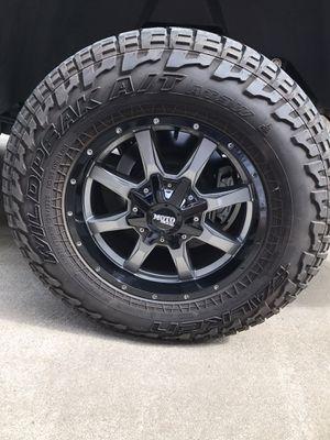 Moto metal wheels/Falken tires for Sale in Manteca, CA