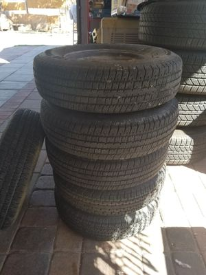 Very good tires for trailers 6 tires for Sale in Las Vegas, NV