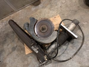 DEWALT INDUSTRIAL SAW WITH TABLE $200 OBO for Sale in Durham, NC