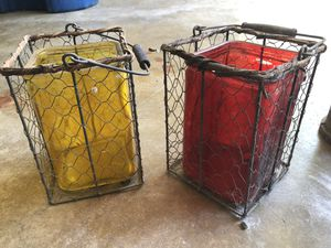 """Outdoor candle holders approx 12"""" tall for Sale in Austin, TX"""