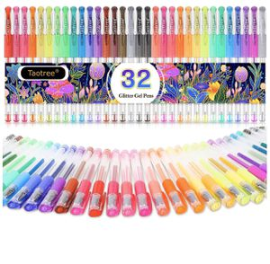 Glitter Gel Pens, 32-Color Neon Glitter Pens for Sale in Hacienda Heights, CA