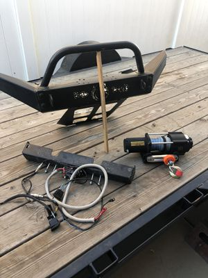 RZR 800 Bumper and winch for Sale in Perris, CA