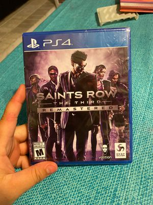 SAINTS ROW 3rd REMASTERED!!!!!!!!!!! PS4!!! for Sale in Visalia, CA