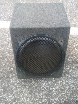 Sound Stream Subwoofer Great Shape Great price (BaltimoreCity) for Sale in Baltimore, MD
