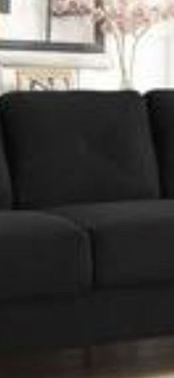 Black Couch for Sale in Union,  NJ