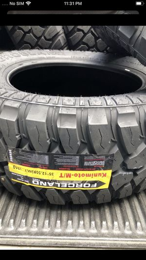 Forceland MT tyres @ wholesale prices—WE DELIVER ONLY for Sale in Anaheim, CA