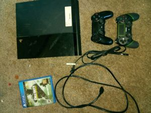 PS4 and cod + controllers for Sale in Seattle, WA