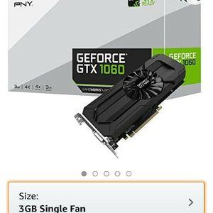 New Boxed Pny Gtx 1060 Gpu Graphics Card 3gb for Sale in Mercer Island, WA