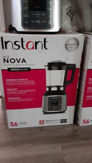 Instant Pot Ace Nova Digital Cooking & Beverage Blender $70 ea. (Price is Firm ) for Sale in Gardena, CA