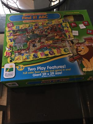 ABC puzzle and game for Sale in Chula Vista, CA
