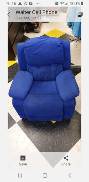 Recliner kid toddler chair for Sale in Sharon Hill, PA