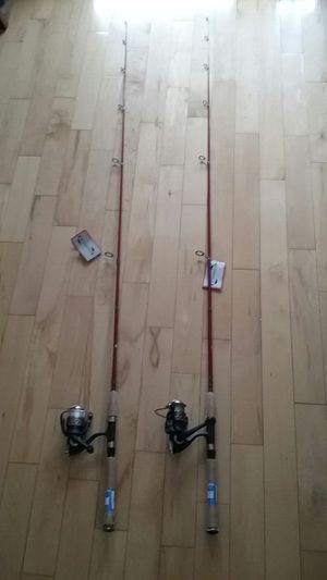 1 Shimano, Shakespeare ,Freshwater Spinning Rod & Reel,trout,bass,catfish New for Sale in Los Angeles, CA