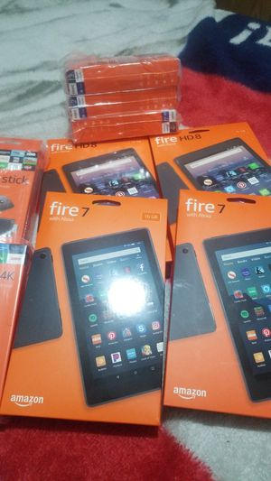 Amazon fire device's for Sale in Fresno, CA