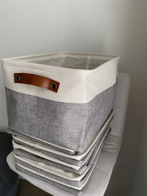 Large Foldable Storage Bin (6-pack) for Sale in Dallas, TX