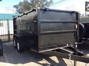 DUMP TRAILER 8x12x4 T/A for Sale in Chino, CA