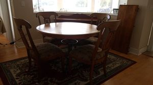 Living room Table with extension and console for Sale in Orlando, FL