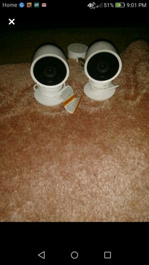 2 Nest IQ wired home security cameras for Sale in Wewoka, OK
