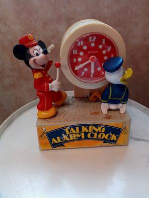 Antique Disneyland clock with Alarm. for Sale in FAIR OAKS, TX