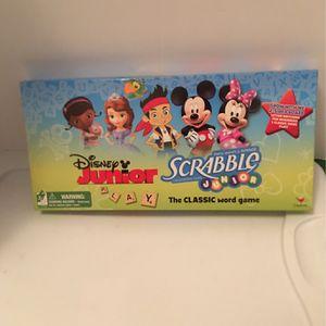 Disney Junior Scrabble Word Game ( New Game ) for Sale in Pasadena, TX