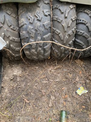 4tires with rims for 200$ for Sale in Crosby, TX