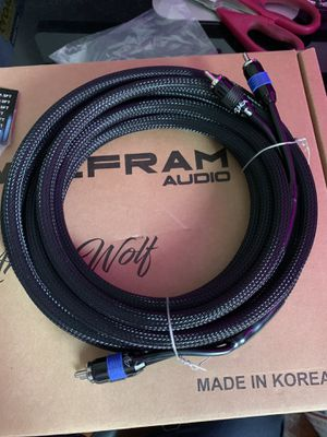 RCA cables for amplifier for Sale in Santa Ana, CA