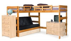 convertible futon with bunk beds for Sale in Nashville, TN