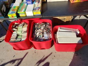 About 50,000 basketball, baseball, football cards. Some sealed sets and some untouched sets. for Sale in Avondale, AZ
