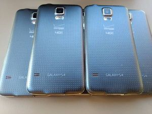 Excellent condition Samsung Galaxy S5 gray pink 16GB wholesale lot of 5 phones for Sale in North Miami Beach, FL