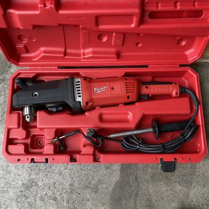 Milwaukee 13 Amp Corded 1/2 in. Super Hawg Hole Hawg Right Angle Drill Driver for Sale in San Jose, CA