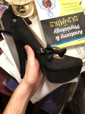 Charlotte Russe 3-inch Heels. Size 6/6.5 for Sale in Herndon, VA