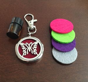 Butterfly Diffuser Charm Clip w/ Pads & 1ml oil * Great for car, handbag, locker, gym bag for Sale in San Jose, CA