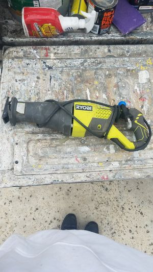 Ryobi green and black reciprocating saw for Sale in Poway, CA