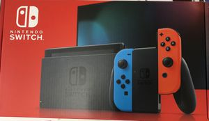 NEW NINTENDO SWITCH Console with Neon Red Blue Joy-Con for Sale in Orlando, FL