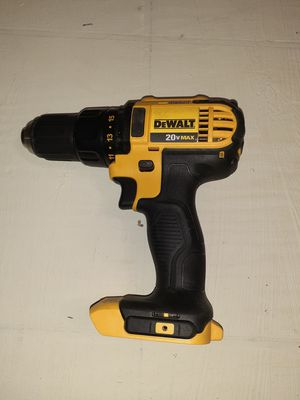 DeWalt 20-volt Max lithium-ion compact drill driver (tool only) for Sale in Denver, CO