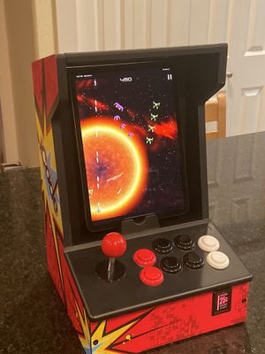 ION iCade Arcade Bluetooth Video Game Controller Cabinet for iPad Tablet (iPad is not included) for Sale in Bothell, WA