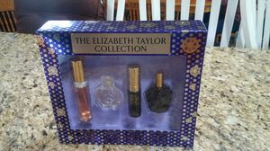 Original perfume the elizabeth taylor collection 4pcs set brand new always authentic by elizabeth taylor for Sale in Rialto, CA