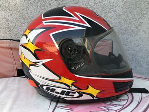 HJC cl-12 fusion II motorcycle helmet, small/medium, good condition for Sale in Alhambra, CA
