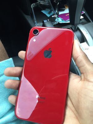 iPhone XR Red 64gb at&t for Sale in Virginia Beach, VA